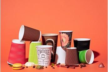 Бумажные стаканы для кофе фото